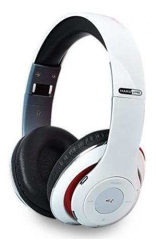 Fone De Ouvido Bluetooth Entrada Sd, Rádio Fm Branco - Tm-10