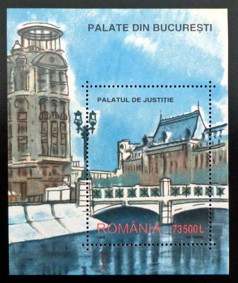 Rumania Arte, Bloque Sc. 4575 Pintura 2003 Mint L8594