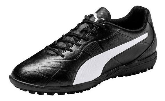 Puma Zapatillas Futbol Hombre Monarch Tt Negro 105674-01