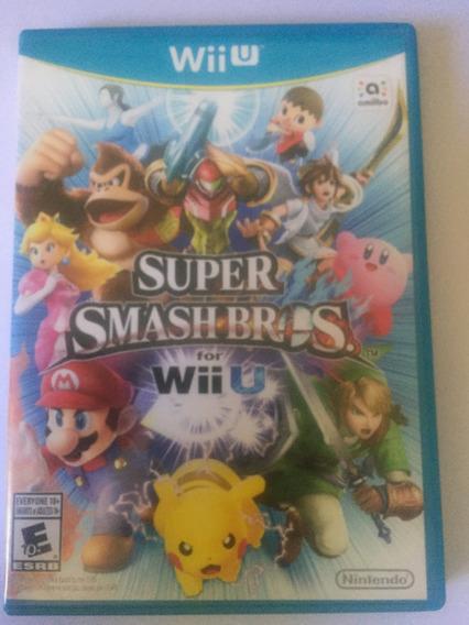 Jogo Super Smash Bros Wiiu Midia Fisica
