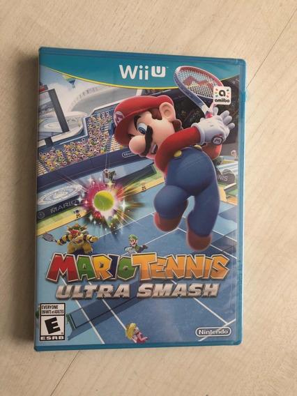Mario Tennis Ultra Smash Wiiu Novo Lacrado