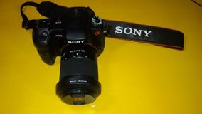 Câmera Fotográfica Sony Alpha A200 Semi-nova Completa