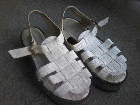Sandalias Con Plataforma - Marca Nazaria - No Hago Envíos