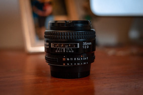 Lente Nikon 35mm F2d Impecável