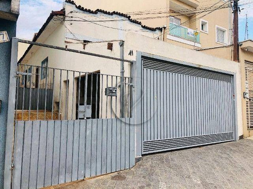 Terreno À Venda, 210 M² Por R$ 530.000,00 - Vila Camilópolis - Santo André/sp - Te0463