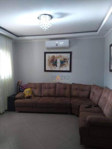Imagem 1 de 15 de Sobrado Em Condomínio Fechado - Planejado E Com Piscina - Ca0395