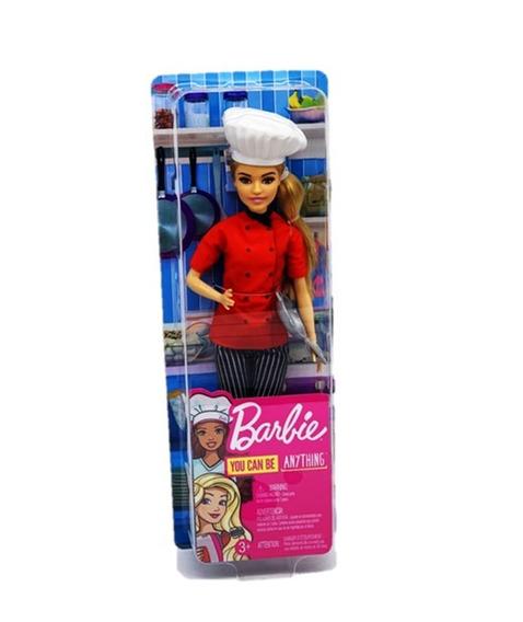 Nova Barbie Profissões Chef De Cozinha Mattel