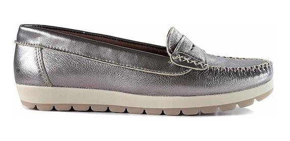 Mocasin Cuero Mujer Briganti Zapato Vestir Goma - Mcmo03587