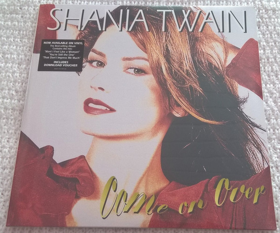 Lp Shania Twain Come On Over Duplo Lacrado Pronta Entrega