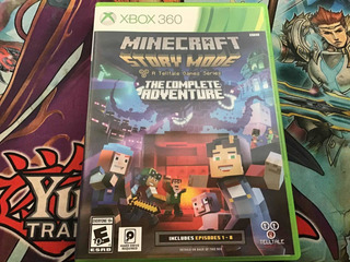 Minecraft Story Mode A Telltale Game Series Xbox 360