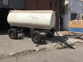 Acoplado Cisterna Para 3.000 Lts