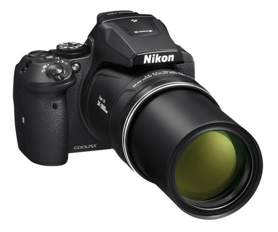 Nikon Coolpix P900 83x Wifi + Mem 32gb + Bolso + Tripode
