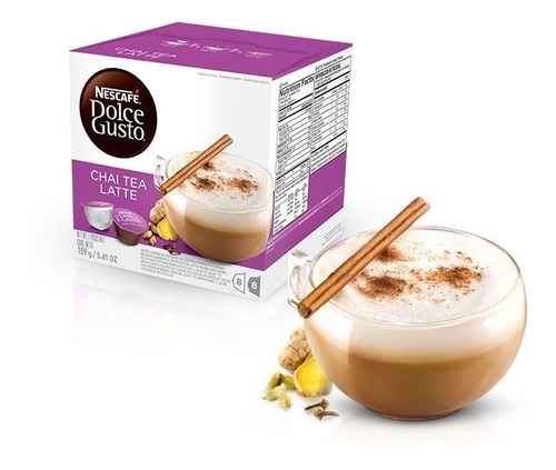 Imagen 1 de 1 de Nescafe Cápsulas Dolcegusto Chai Tea Latte. Hiperofertas