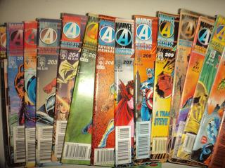 Lote Capitao America 200 A 214 Completa Editora Abril Otimas
