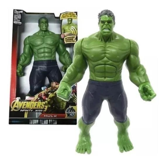 Remate Niño Jesus Muñecos Accion Hulk Thanos 30cm (13 Vrds)