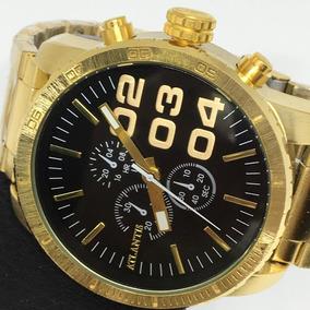 Relógio Masculino Atlantis Grande Social Super Luxo