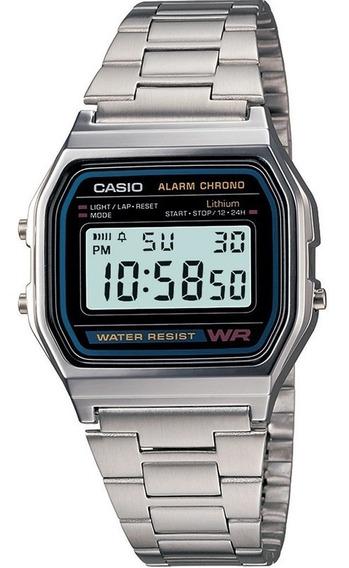 Relógio Casio Vintage Unissex Digital A-158wa-1df