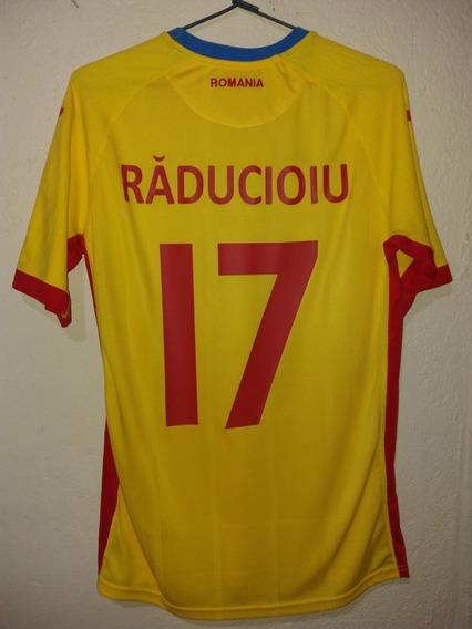 Camisa Oficial Seleção Da Romenia