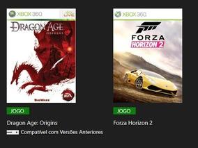 Forza Horizon 2 + Jogos Xbox 360 Midia Digital Via Licença