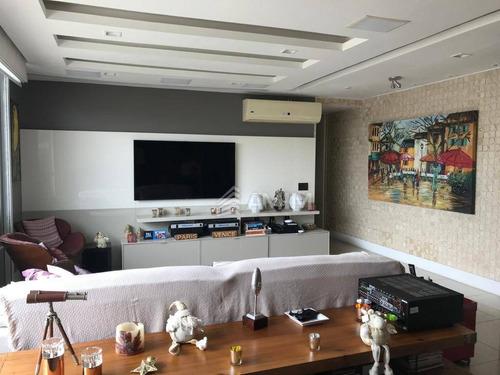 Cobertura Com 4 Dormitórios À Venda, 315 M² - Charitas - Niterói/rj - Co0280