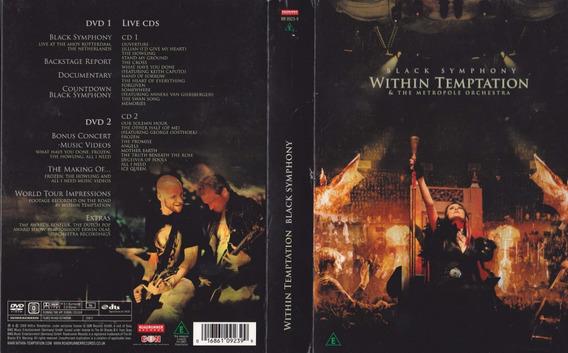 Within Temptation - Black Symphony - 2cd + 2dvd - 2008