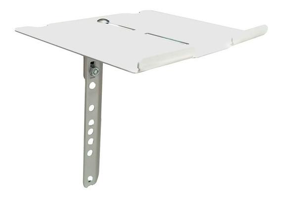 Suporte Branco P/ Receptor Conversor Dvd Net Sky Aero Multiv