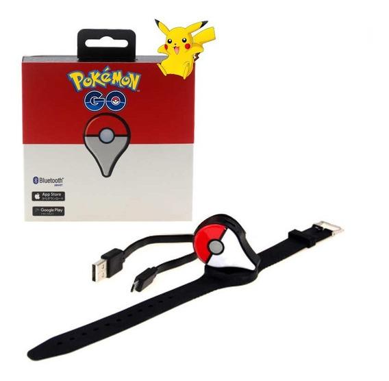 Pokemon Go Plus Recarregável - Captura Automática E Manual ®