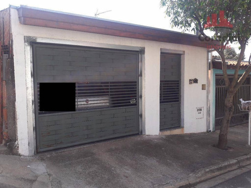 Imagem 1 de 9 de Casa Residencial À Venda, Parque Nova Carioba, Americana. - Ca1266