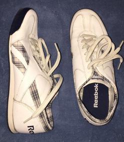 Tenis Reebook Couro Branco Original Num 36