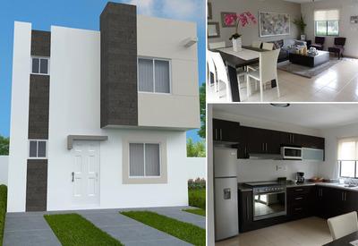 Linda Casa En Ciudad Marques, 3 Recámaras, 1.5 Baños, Privada, Ganela!
