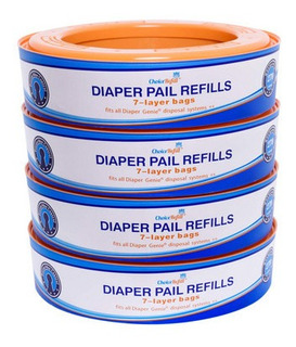 Choicerefill Compatible Con Diaper Genie Pails 4pack 1080 Co