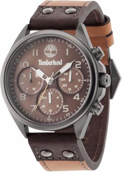 Relógio Timberland Tbl14859jsu12 Wolcott Analog Quartz Brown