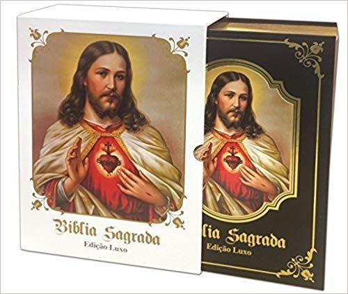 Bíblia Sagrada Católica, Presentes Religiosos, Frete Grátis