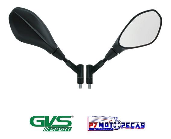 Retrovisor Gvs Modelo Giro 360 Bmw Gs650 F800 Lente Convexa