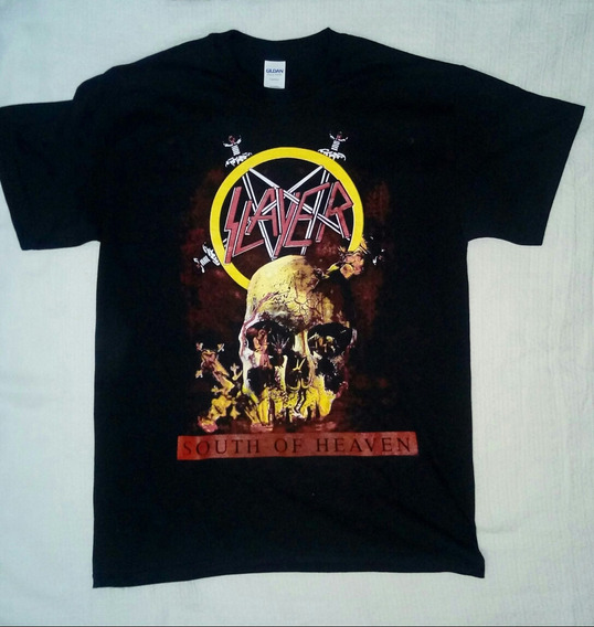 Playera De Slayer, Exodus, Testament, Anthrax, Force Fest