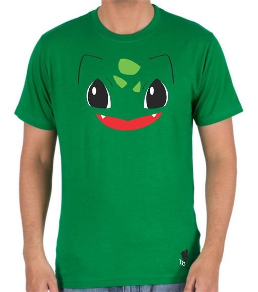 Playeras Pokemon Charmander Pikachu Squirtle Bulbasaur