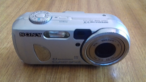 Camera Sony Cyber-shot Dsc-p73 (defeito Visor)