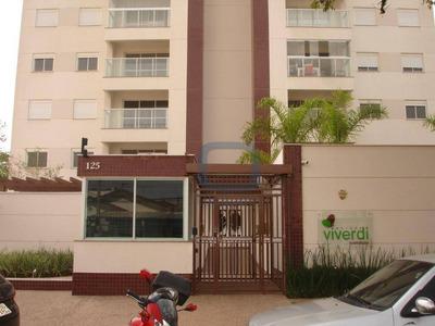 Apartamento Residencial Para Locação, Jardim Brasil, Campinas. - Ap0700