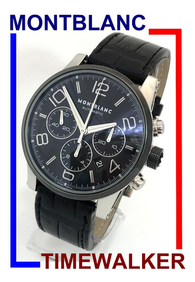 Relógio Montblanc Timewalker 7069 Auto Crono Cerâmica 43 Mm!