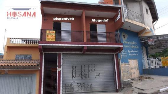 Casa Com 1 Dormitório Para Alugar, 30 M² Por R$ 750/mês - Jardim Luíza - Francisco Morato/sp - Ca0667