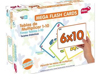 Flash Cards Tablas De Multiplicar