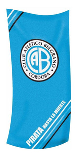 Toallon Belgrano Algodon Premium Lic. Oficial Toalla Cuotas