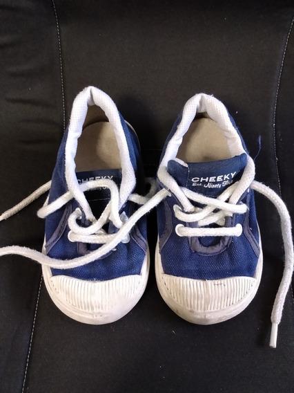 Zapatillas Marca Cheeky De Lona