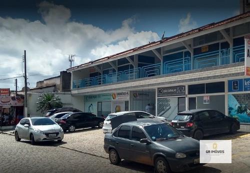 Imagem 1 de 2 de Sala Comercial Em Galeria Na 1 Quadra Da Praia Da Pajuçara Por 95 Mil! - 150