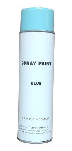 Pintura En Spray Color  Azul  Envase Grande  390 M L