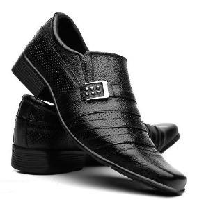 Sapato Masculino Em Couro Frangarcia