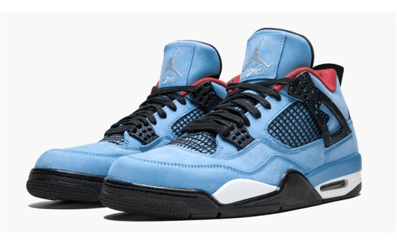 Tenis Jordan Iv 4 Travis Scott Originales
