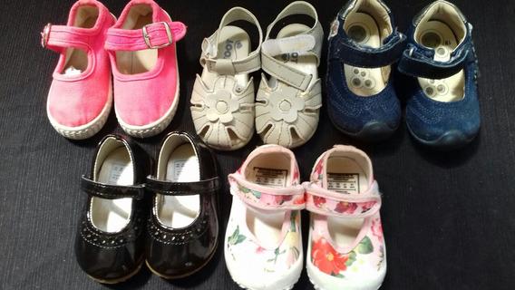 Lote De Zapatos Nena Talle 19