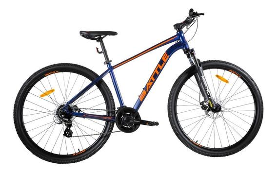 Bicicleta Battle Mountain Bike Rodado 27.5 24 Velocidades