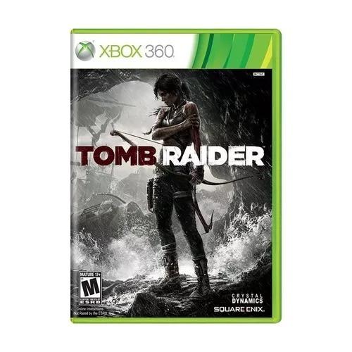 Jogo Tomb Raider Xbox 360 Mídia Física Original Frete Grátis